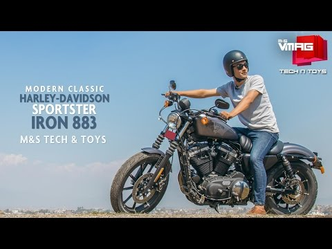 Riding Harley-Davidson in Kathmandu | Sportster Iron 883 | M&S TECH & TOYS | M&S VMAG