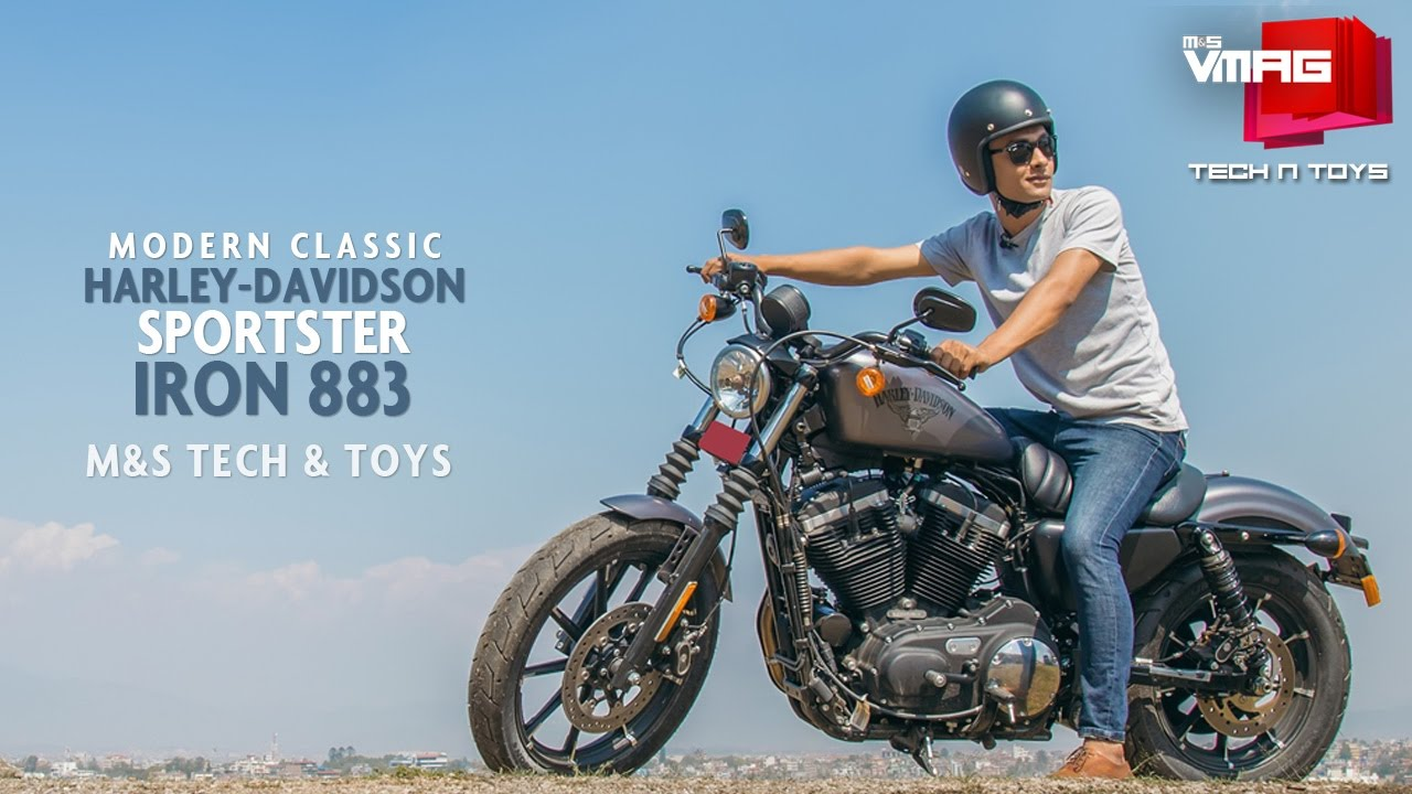 Riding Harley-Davidson in Kathmandu | Sportster Iron 883 | M&S TECH