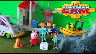 Fireman Sam Episode Naughty Norman and Nurse Flood Stuck At Sea Full Episode - Feuerwehrmann Sam