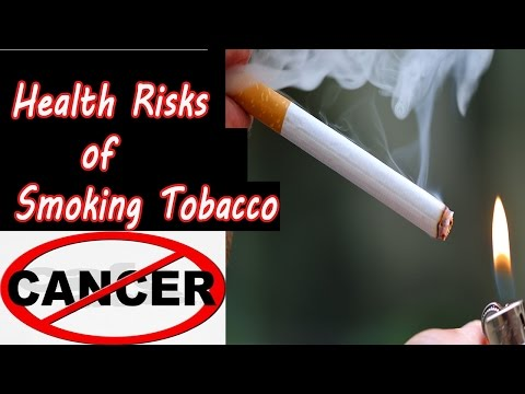 Cancer : Health Risks of Smoking Tobacco | Heart Disease, Emphysema