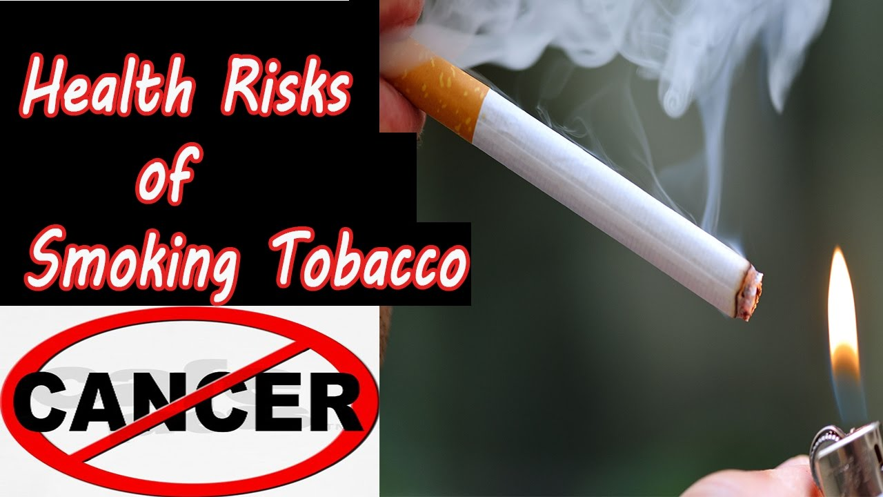 the health risks of smoking The health risks of smoking are well known, but kids and teens continue to smoke and use chewing tobacco many young people pick up these habits every year — in fact, 90% of all adult smokers started when they were kids.