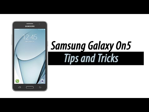 Samsung Galaxy Galaxy On5 | Tips and Tricks