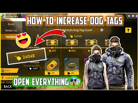 HOW TO INCREASE YOUR DOG TAGS IN FREE FIRE || TRICK TO INCREASE DOG TAGS IN FREE FIRE