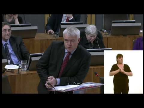 FMQs 09/12/14 Mixed subtitles (Welsh & English) / CPW 09/12/