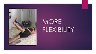 How can I get more flexibility in my hamstrings?