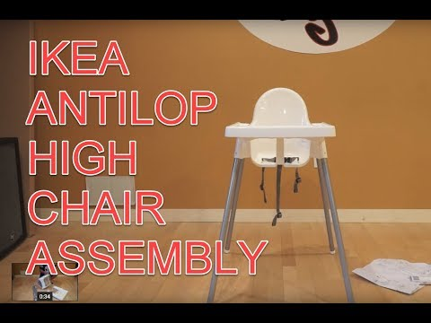 IKEA ANTILOP Child Highchair ASSEMBLY