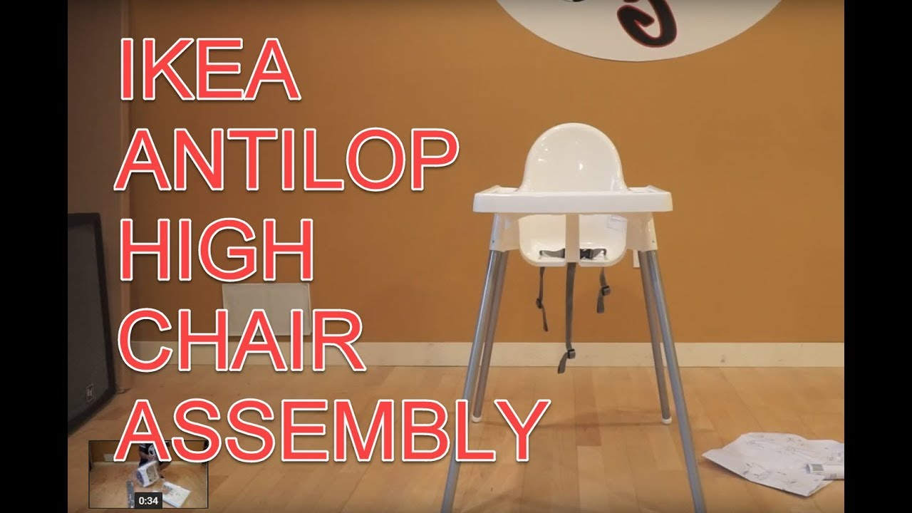 Ikea Antilop Child Highchair Embly