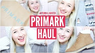 Primark Haul 2015 (Autumn & Winter) | sophielouisebeauty
