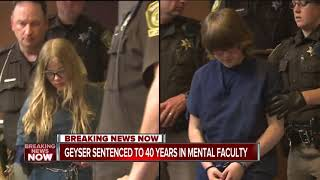Morgan Geyser sentenced to 40 years in mental institution in Slender Man stabbing case
