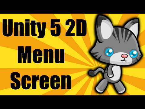 Unity 5 2d - Start Menu And Changing Scenes - Mobile Platformer Series - Part 4