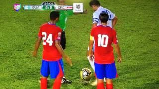Gol de Carlos Pescadito Ruiz- Guatemala vs Costa Rica Final Uncaf14