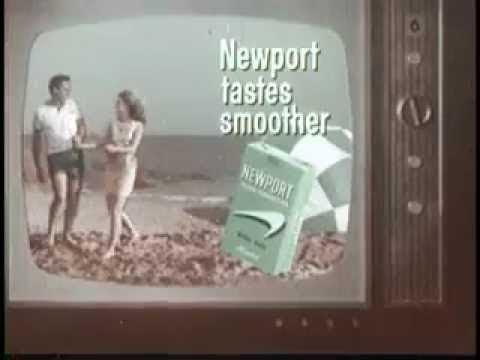 10 Classic Retro Newport Cigarettes Commercials