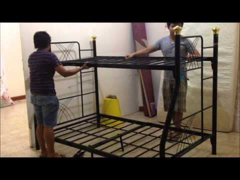 HOW TO ASSEMBLE A DOUBLE DECK BED