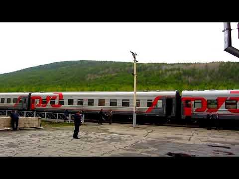 От Москвы до Владивостока.Часть первая.Полет до Красноярска.По БАМу на поезде.Байкал.Хабаровск.