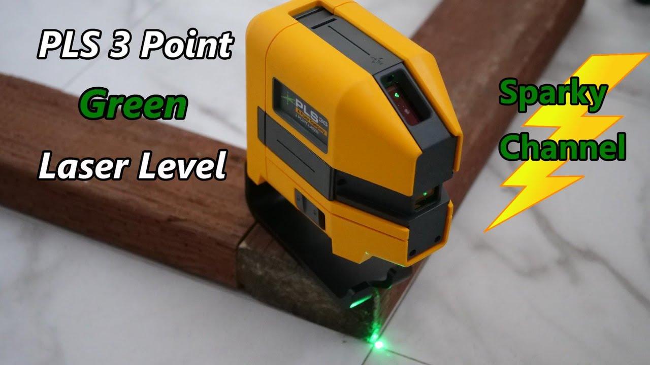 PLS 6G Combo Point /& Line Green Laser Kit