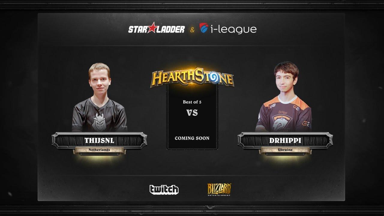 [RU] ThijsNL vs DrHippi | SL i-League Hearthstone StarSeries Season 3 (12.05.2017)