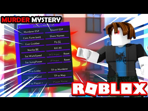 Roblox Hack Script Mm2 Gui Op Fly No Clip Run Esp And