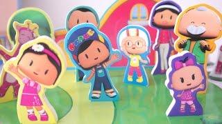 3D Pepee Oyuncak Arkadaşları ile Ailesi Oyun Parkı Eva Figürlü Oyuncak   Pepee #7