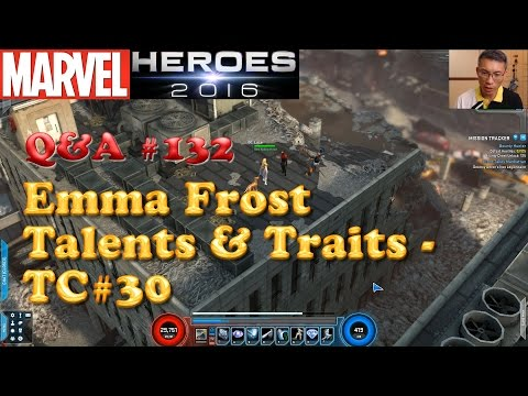 Marvel Heroes Q&A Emma Frost Talents & Traits - Test Center Edition #30