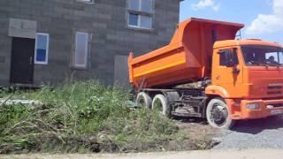 УРАЛАВТОСТРОЙ. Доставка щебня фр.5-20 в Новокосулино.(, 2015-08-28T12:16:44.000Z)