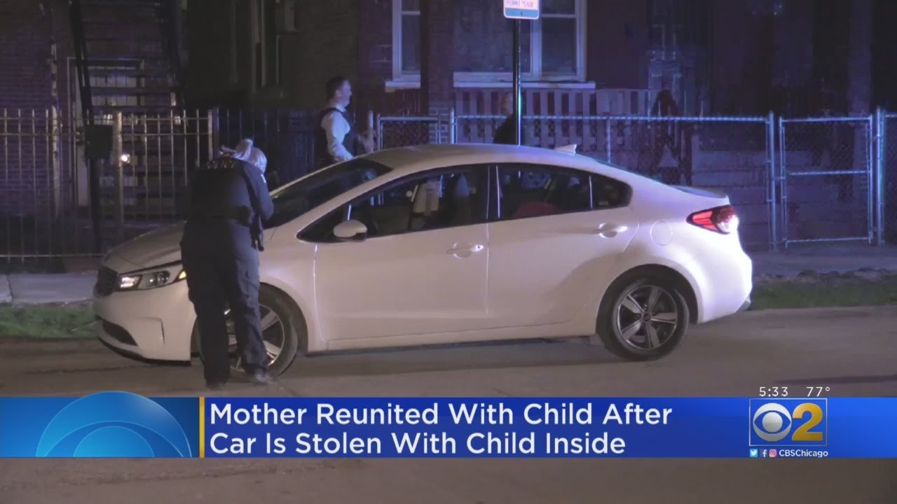 Mother Reunited With Child After Car Is Stolen With Child Inside