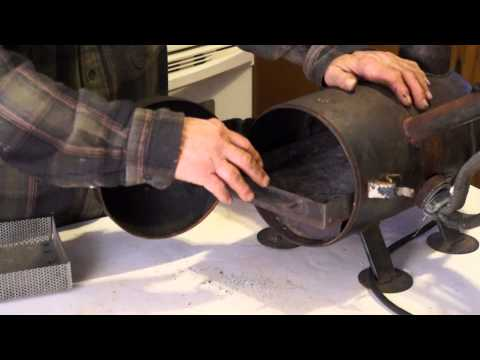 Delmar Builds a Smoke Generator and Smokes Cheese - Redneck.Life Productions