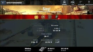 World Of Tanks Blitz Game Play (VK 30.01D)