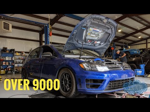 EQT TURBO UNBOX + DYNO TIME | MK7 Golf R