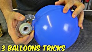 3 Simple Balloons Tricks!