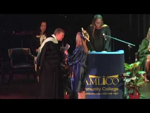 Pamlico Community College Commencement 2017, part 2