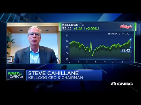 Kellogg CEO discuss his outlook for Q4
