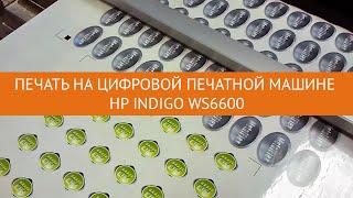Печать самоклеящихся этикеток на цифровой печатной машине HP Indigo WS6600(Основные преимущества цифровой печати – это высокое разрешение (линиатура до 210 lpi), возможноть