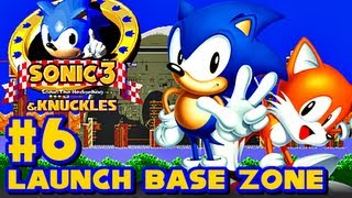 Sonic 3 and Knuckles - (1080p) Part 6 - Launch Base Zone