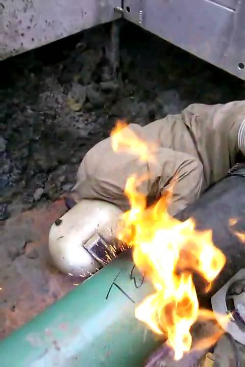 Hot Tap Welding - YouTube