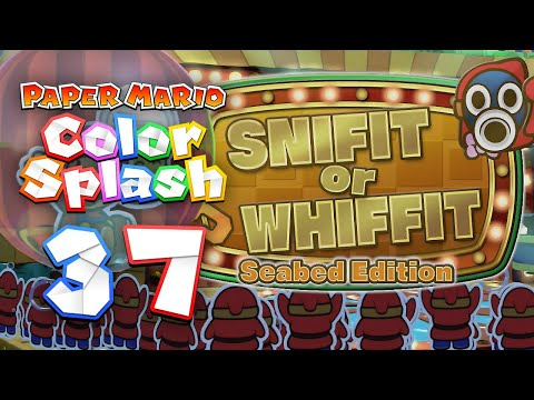 Paper Mario: Color Splash - 37 - Snifit or Whiffit: Seabed Edition