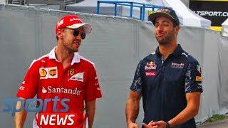 F1 news: Daniel Ricciardo sent contract message as Sebastian Vettel drops Ferrari hint thumbnail