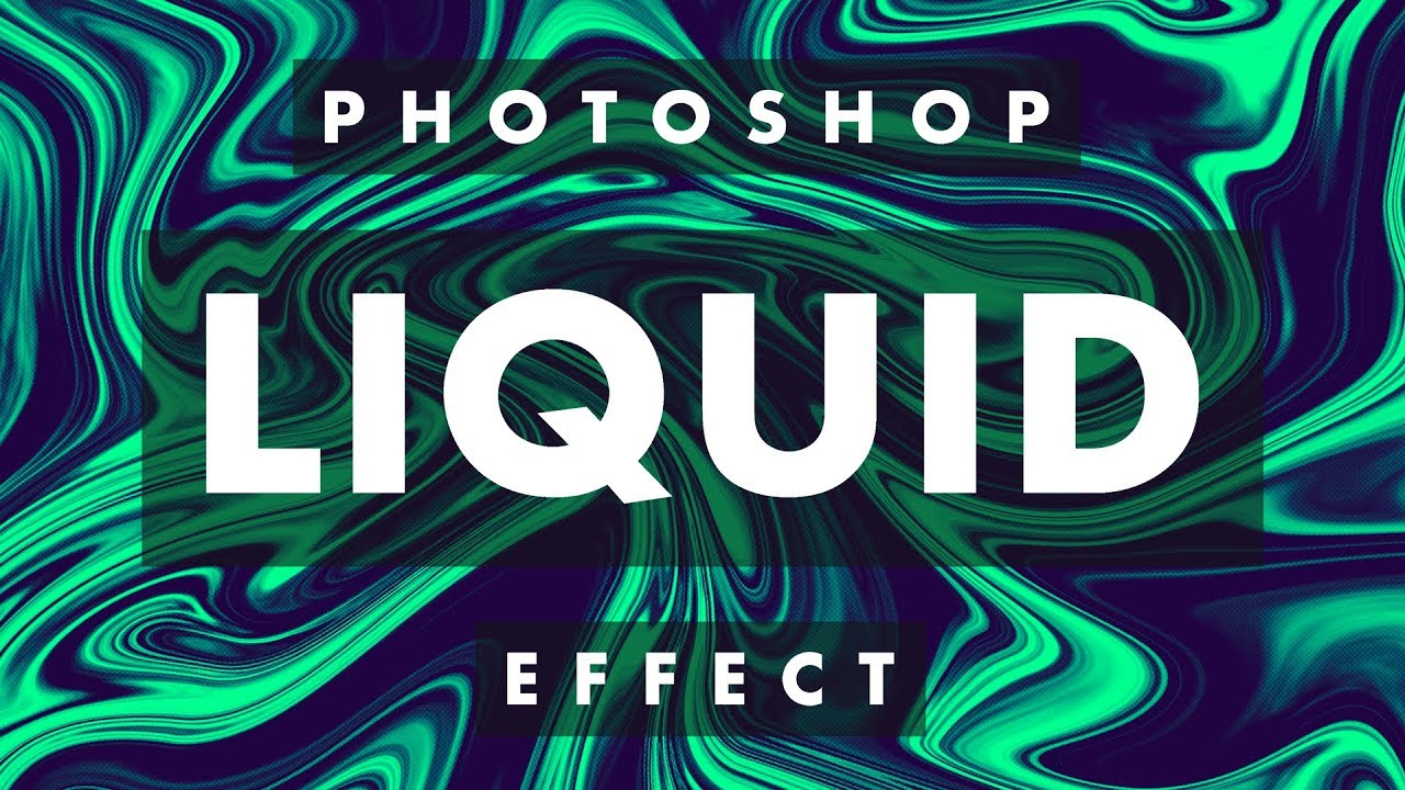 Liquid Effect Tutorial | Adobe Photoshop