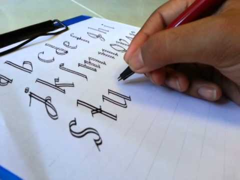 Simple Calligraphy For Beginners