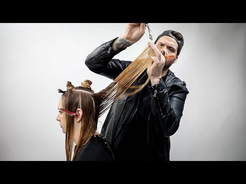 Long Layered Haircut Tutorial 2018