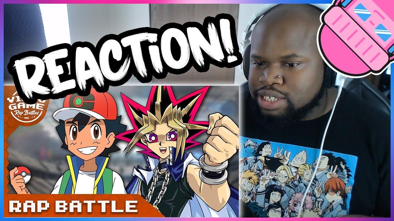 Ash Ketchum vs. Yugi Muto - Rap Battle Reaction [Pokemon vs. Yu-Gi-Oh!]
