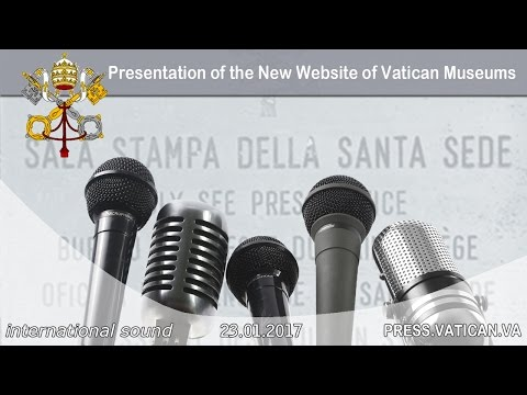 2017.01.23 Presentation of the New Website of Vatican Museums