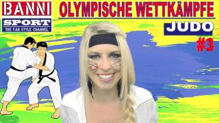 JUDO #3 - Olympic Wettkampf - Original Banni Sport Fan Style & Make-up