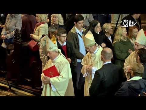 SNIMKA: Misa iz zagrebačke katedrale koju je predslavio Pietro Parolin, državni tajnik Svete Stolice