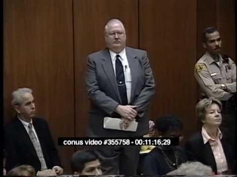 OJ Simpson Trial - March 7th, 1995 - Part 1