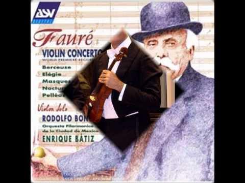 FAURE': BERCEUSE - RODOLFO BONUCCI, violin.wmv