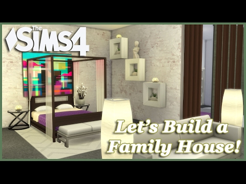The Sims 4 - Let's build a Family House (Part 6) Realtime