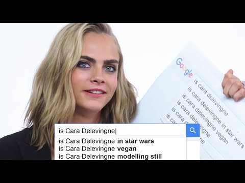 Cara Delevingne Answers the Web's Most Searched Questions  WIRED