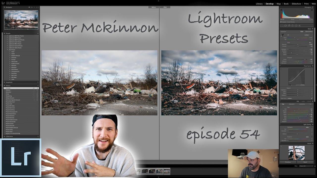 Peter McKinnon's Lightroom Presets: Episode 54