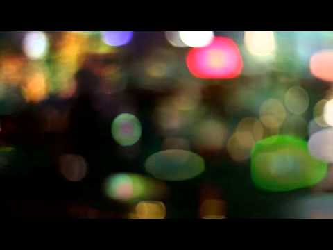 Blurry City Lights Motion Background - YouTube