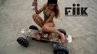fiik electric skateboards ride with us